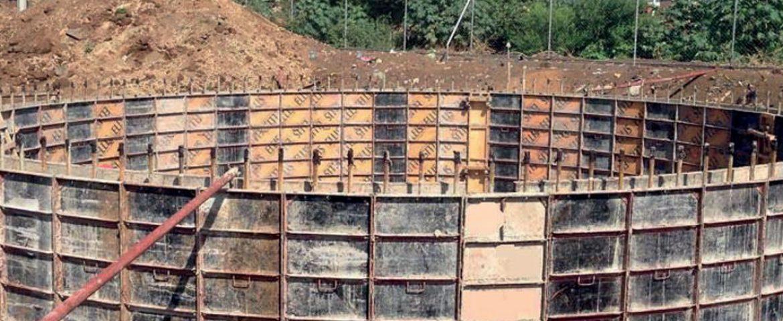 Cisterna de Agua Potable en Valle Sandino